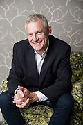 May0084679 . Daily Telegraph<br /> <br /> Features<br /> <br /> Presenter Jeremy Vine is to take over from Matthew Wright on Channel Five this autumn .<br /> <br /> London 14 August 2018