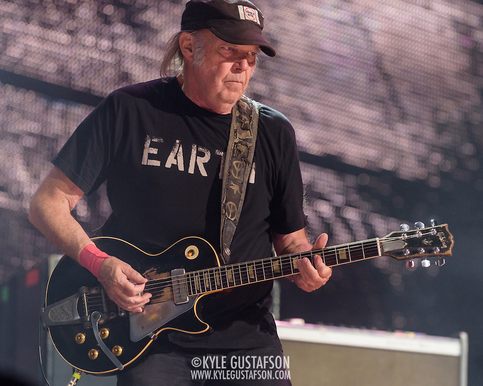 BRISTOW, VA - September 17th, 2016 - Neil Young performs at Farm Aid 2016 at Jiffy Lube Live in Bristol, VA. (Photo by Kyle Gustafson / For The Washington Post)