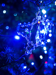 Star Shaped Christmas Decoration, Close-up view