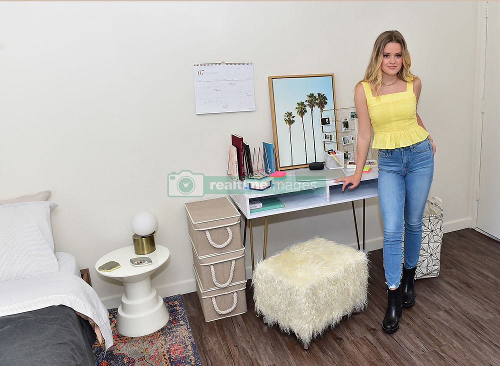 Reese Witherspoon's daughter shows off her trendy university dorm room after teaming up with Amazon Off To College to decorate her room. The 19-year-old student — who since last fall has been studying at the University ofCalifornia, Berkeley — is gearing up for her sophomore year of college and has collaborated with Amazon Home. Ava, whose father is actor Ryan Phillippe, explained: 'Because the moving process at my university happens so quickly, I only had a few days to get moved in and settled. I was able to purchase all of my dorm and school essentials from Amazon's Off to College storefront and get my items delivered fast with my Prime Student membership.' For her dorm room, Ava picked some of her favorite Amazon items including Rivet Throw Pillow, Amazon Echo Dot, Now House by Jonathan Adler Wink Tray, UGG Bliss Sherpa Throw, and more. Ava went on: 'In between classes, I often come back to my dorm to get some reading done. I'm absolutely obsessed with my cotton Calvin Klein duvet from Amazon's Off to College storefront. It's like laying on your favorite t-shirt while studying!' Speaking about her being a student, Ava said: 'One of my favorite aspects of college is the freedom to create your own class schedule. While it's exciting that every week day is different, it sometimes makes it challenging to keep track of my schedule. I've been using my Amazon Echo to set reminders I need for class, set alarms, and keep me organized.' Students can shop college essentials and dorm room must-haves for life on campus all on Amazon's Off to College storefront. Amazon has everything needed for college — from headphones to textbooks, dorm decor and more — making it simple by offering students everything they need in one location. With Prime Student, members can enjoy shopping and entertainment from Amazon including exclusive deals on college essentials and popular dorm room products that can be delivered in one day or less. Students can stream m
