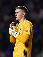 Football - 2019 / 2020 Emirates FA Cup - Fifth Round: Reading vs. Sheffield United<br /> <br /> Sheffield United's Dean Henderson, at the Madejski Stadium.<br /> <br /> COLORSPORT/ASHLEY WESTERN