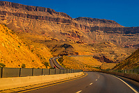 Virgin River Canyon  is a scenic, windy section of Interstate 15, Arizona between Utah and Nevada.