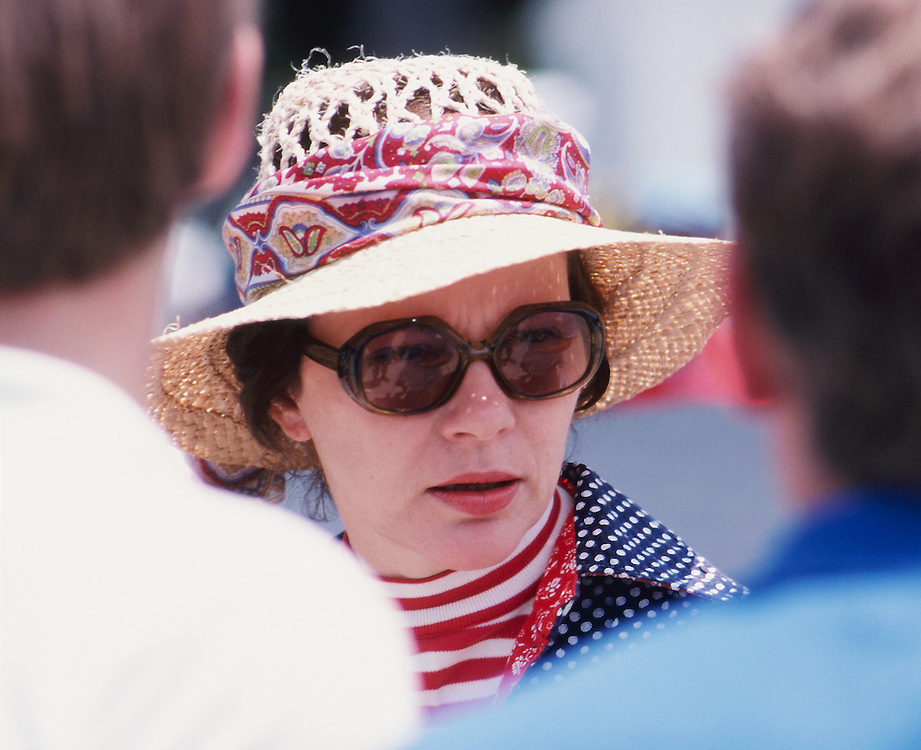 Rosalynn Carter, First Lady of the United States speaks with staff at a presidential retreat. - To license this image, click on the shopping cart below -