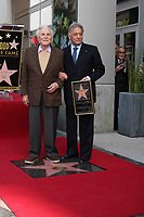 3/1/2011 Kirk Douglas stands with Zubin Mehta during Zubin's Hollywood Walk of Fame Ceremony