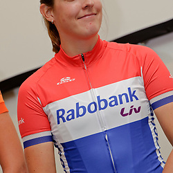 13-01-2016: Wielrennen: Ploegenpresentatie Rabo Liv Cyclingteam: Papendal: Arnhem: Ladies Cycling: Dames Wielrennen Lucinda Brand