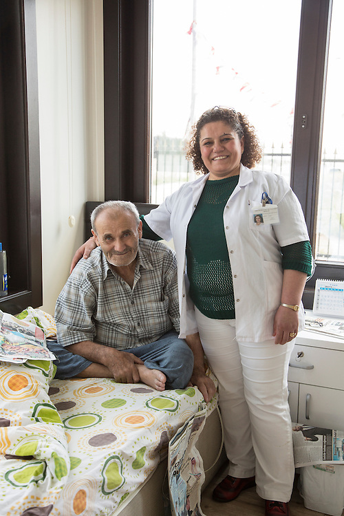 Mental Health home in Ankara, Turkey.<br /> <br /> (RELEASED BY DIRECTOR OF FACILITY)<br /> <br /> Matt Lutton for the European Commission