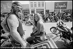 Downtown at Ingalls, Sturgis, South Dakota, 1984<br /> <br /> Limited Edition Print from an edition of 15. Photo ©1984 Michael Lichter.