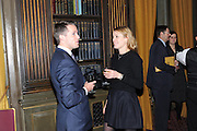 WOODY STILEMAN; EMMA WIGAN;  Celebration of the  200TH Anniversary of the  Birth of Rt.Hon. John Bright MP  and the publication of <br /> ÔJohn Bright: Statesman, Orator, AgitatorÕ by Bill Cash MP. Reform Club. London. 14 November 2011. <br /> <br />  , -DO NOT ARCHIVE-© Copyright Photograph by Dafydd Jones. 248 Clapham Rd. London SW9 0PZ. Tel 0207 820 0771. www.dafjones.com.<br /> WOODY STILEMAN; EMMA WIGAN;  Celebration of the  200TH Anniversary of the  Birth of Rt.Hon. John Bright MP  and the publication of <br /> 'John Bright: Statesman, Orator, Agitator' by Bill Cash MP. Reform Club. London. 14 November 2011. <br /> <br />  , -DO NOT ARCHIVE-© Copyright Photograph by Dafydd Jones. 248 Clapham Rd. London SW9 0PZ. Tel 0207 820 0771. www.dafjones.com.