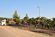 Israel, Jezreel Valley, Gan Ner a communal settlement located near the Green Line to the south of Afula, it falls under the jurisdiction of Gilboa Regional Council. The settlement was named after Lord Barnett Janner.