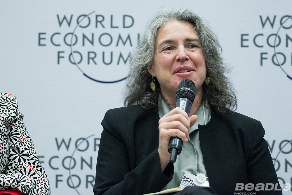 Gillian Caldwell, Chief Executive Officer<br /> Global Witness at the World Economic Forum on Africa 2017 in Durban, South Africa. Copyright by World Economic Forum / Greg Beadle