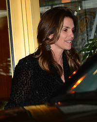 Cindy Crawford and Rande Gerber Leave Jennifer Anistons 50th Birthday Party. 10 Feb 2019 Pictured: Cindy Crawford, Rande Gerber. Photo credit: MEGA TheMegaAgency.com +1 888 505 6342