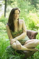 Photo session with Sarah.  Karen Bobotas Photographer