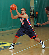 April 8, 2011 - Hampton, VA. USA; Isaac Cohen participates in the 2011 Elite Youth Basketball League at the Boo Williams Sports Complex. Photo/Andrew Shurtleff