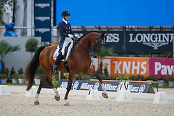 Graves Laura, USA, Verdades<br /> CDI 5* Grand Prix Kur<br /> CHIO Rotterdam 2017<br /> © Dirk Caremans<br /> 24/06/2017