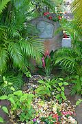 Jacques Brel's gravesite, Atuona, Marquesas, French Polynesia<br />