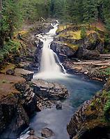Silver Falls Mount Rainier National Park Washington USA
