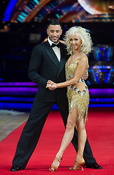 Debbie McGee and Giovanni Pernice posing during photocall before the opening night of Strictly Come Dancing Tour 2018 at Arena Birmingham in Birmingham, UK. Picture date: Thursday 18 January, 2018. Photo credit: Katja Ogrin/ EMPICS Entertainment.