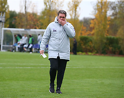 November 6, 2018 - London, England, United Kingdom - Enfield, UK. 06 November, 2018.John McDermott  Head Coach of Tottenham Hotspur.during UEFA Youth League match between Tottenham Hotspur and PSV Eindhoven at Hotspur Way, Enfield. (Credit Image: © Action Foto Sport/NurPhoto via ZUMA Press)