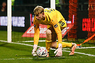 Barnet goalkeeper Will Huffer (39) during The FA Cup fourth round match between Barnet and Brentford at The Hive Stadium, London, England on 28 January 2019.