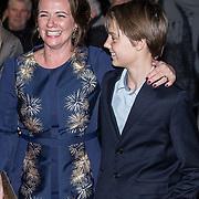 NLD/Apeldoorn/20180119 - Verjaardagsconcert Prinses Margriet 75 Jaar, Prinses Anita met haar zoon Samuel