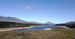 This image is of the Steenberg Dam.  The dam is one of the six that supply Cape Town with its water supply.  On the 3rd March 2017 the City of Cape Town declared the drought a local disaster.  The dam levels are currently at 31% with the last 10% effectively unusable this means Cape Town water levels are at 21%.  This leaves the city with around 113 days of water left.<br /> <br /> Photo by:  Ron Gaunt / RealTime Images