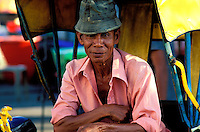 Malaisie, Kota Bharu, Trishaw // Malaysia, Kota Bharu, Trishaw driver