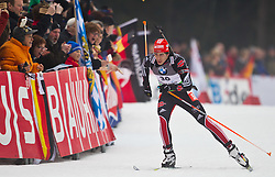 14.01.2011, Chiemgau Arena, Ruhpolding, GER, IBU Biathlon Worldcup, Ruhpolding, Sprint Men, im Bild Arnd Peiffer (GER) // Arnd Peiffer (GER) during IBU Biathlon World Cup in Ruhpolding, Germany, EXPA Pictures © 2011, PhotoCredit: EXPA/ J. Feichter