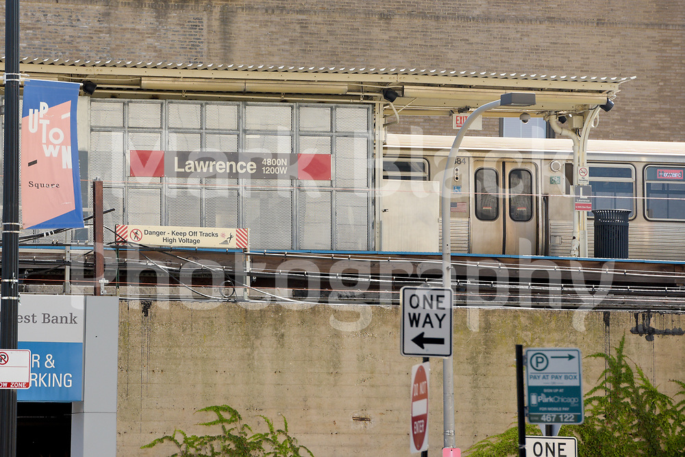 The Lawrence L Stop in the Uptown neighborhood in Chicago on Friday, Sept. 4, 2020. Photo by Mark Black