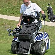 NLD/Zandvoort/20080816 - KLM Open 2008 BN'er Charity Challenge, gehandicapte sporter