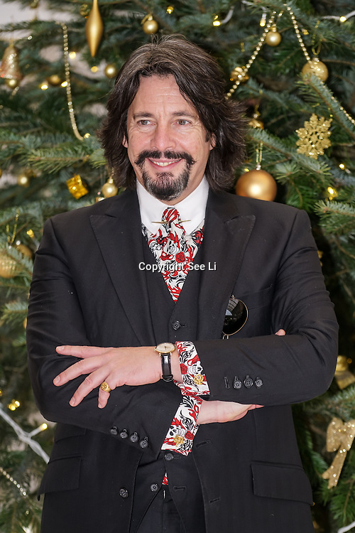 The nation's favourite interior designer Laurence Llewelyn-Bowen open the Ideal Home Show at Christmas on 23rd November 2016 running from 23rd-27th November at Olympia, London,UK. Photo by See Li