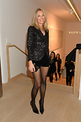 KIM HERSOV at an evening of Fashion, Art & design hosted by Ralph Lauren and Phillips at the new Phillips Gallery, 50 Berkeley Square, London on 22nd October 2014.