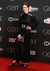 Carice van Houten attending the Game of Thrones Premiere, held at Waterfront Hall, Belfast.
