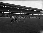 08/10/1961<br /> 10/08/1961<br /> 08 October 1961<br /> All Ireland Camogie Final at Croke Park, Dublin. Tipperary v Dublin.