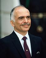 King Hussein of Jordan<br />Photo by Dennis Brack. bb77