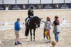 Colling Maité, BEL, Rapallo CL<br /> European Championship Children, Juniors, Young Riders - Fontainebleau 1028<br /> © Hippo Foto - Leanjo de Koster<br /> Colling Maité, BEL, Rapallo CL