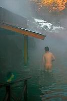Sai-No-Kawara Onsen - Kusatsu visitors like to take the waters and soak in the town's hot spring baths such as at Sai No Kawara, which has an outdoor bath or rotemburo.