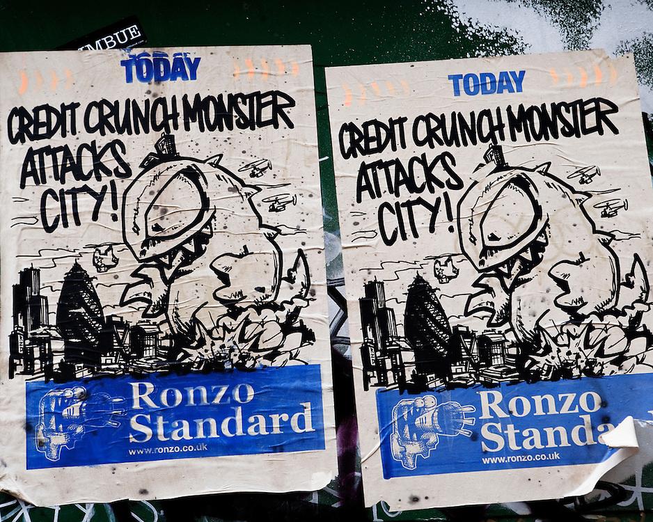 Credit Crunch Monster attacks city