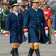 NLD/Den Haag/20190917 - Prinsjesdag 2019, Koninklijke lakeien