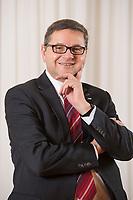 23 OCT 2014, BERLIN/GERMANY:<br /> Gerd Deimel, Vice President und Leiter Global Logistics Management LANXESS Deutschland GmbH, Hotel Intercontinental<br /> IMAGE: 20141023-02-040