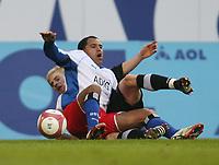 Ailton, Tobias Rau Bielefeld<br />Bundesliga Hamburger SV - Arminia Bielefeld