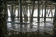 Looking Underneath the Santa Monica Pier