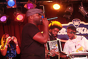 17 May 2011- New York, NY - l to r:  Quest?Love, DJ Jazzy Jay and Black Thought at the Kool Herc Tribute  and Melle Mel Birthday Celebration Produced by Jill Newman Productions and held at BB Kings on May 17, 2011 in New York City. Photo Credit: Terrence Jennings