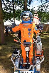 Latitude Festival, Henham Park, Suffolk, UK July 2019. Jon Spooner & Unlimited Space Agency show