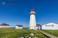 Lighthouse at Machias Seal Island, Maine, USA