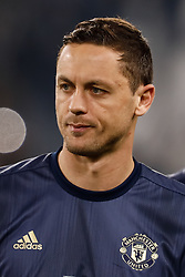 November 7, 2018 - Turin, Italy - Nemanja Matic of Manchester United during the Group H match of the UEFA Champions League between Juventus FC and Manchester United FC on November 7, 2018 at Juventus Stadium in Turin, Italy. (Credit Image: © Mike Kireev/NurPhoto via ZUMA Press)