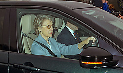 The Duchess of Gloucester arriving for the Queen's Christmas lunch at Buckingham Palace, London.