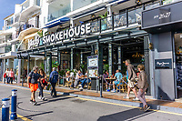 Jack's Smokehouse, marina, Puerto Banus, Marbella, Spain, February, 2020, 202002122169<br /><br />Copyright Image from Victor Patterson, Belfast, UK<br />t: +44 28 9066 1296 <br />(from Rep of Ireland 048 9066 1296) <br />m: +44 7802 353836 <br />victorpattersonbelfast@gmail.com <br />www.victorpatterson.com<br /><br />Please see my Terms and Conditions of Use at https://www.victorpatterson.com/page2 <br /><br />It is IMPORTANT that you familiarise yourself with them.<br /><br />Images used on the Internet incur an additional cost and must be visibly watermarked i.e. © Victor Patterson within the body of the image and copyright metadata must not be deleted. Images used on the Internet have a size restriction of 4kbs and are chargeable at rates available at victorpatterson.com.<br /><br />This image is only available for the use of the download recipient i.e. television station, newspaper, magazine, book publisher, etc, and must not be passed on to any third party. It is also downloaded on condition that each and every usage is notified within 7 days to victorpattersonbelfast@gmail.com<br /><br />The right of Victor Patterson to be identified as the author is asserted in accordance with The Copyright Designs And Patents Act (1988). All moral rights are asserted.