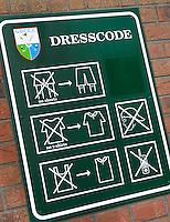 CAPELLE aan de IJSSEL - etikette, huisregels, op de Capelse Golfclub. FOTO KOEN SUYK