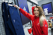 Rowan Cheshire during GB Park & Pipe Winter Olympic official Adidas kitting out day on 24th January 2018 in Stockport, United Kingdom.
