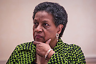 Myrlie Evers-Williams at an event in Jackson Mississippi honoring Medgar Evers on the 50th anniversary of his murder.